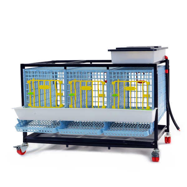 Partridge Breeding Stock Housing - 3 Section / 1 Tier